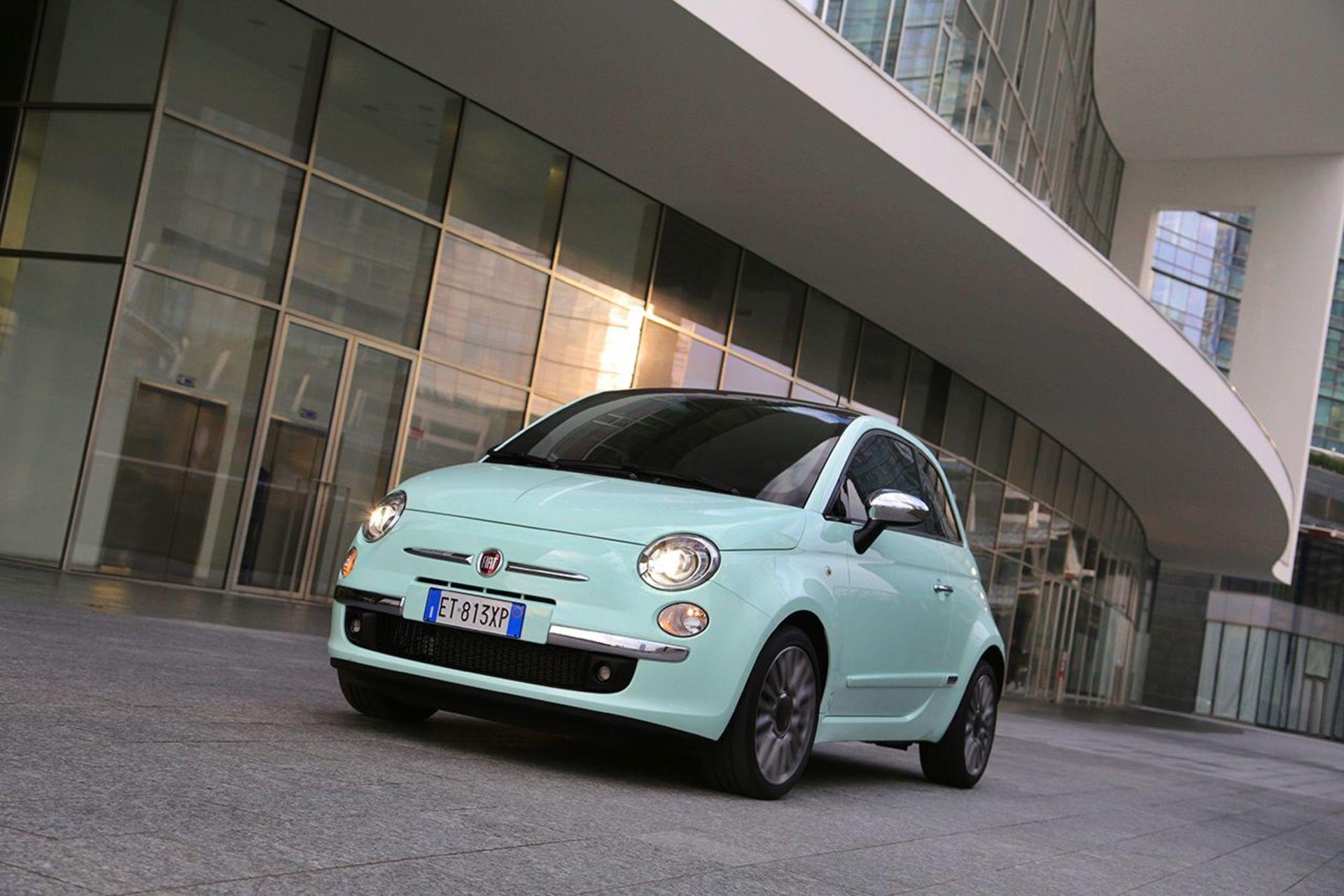 FIAT 500 1, 0 70hv Hybrid MT Lounge - ,  Korko 0, 9%,  rahoitus jopa ilman käsirahaa! Uusi auto nopeaan toimitukseen!