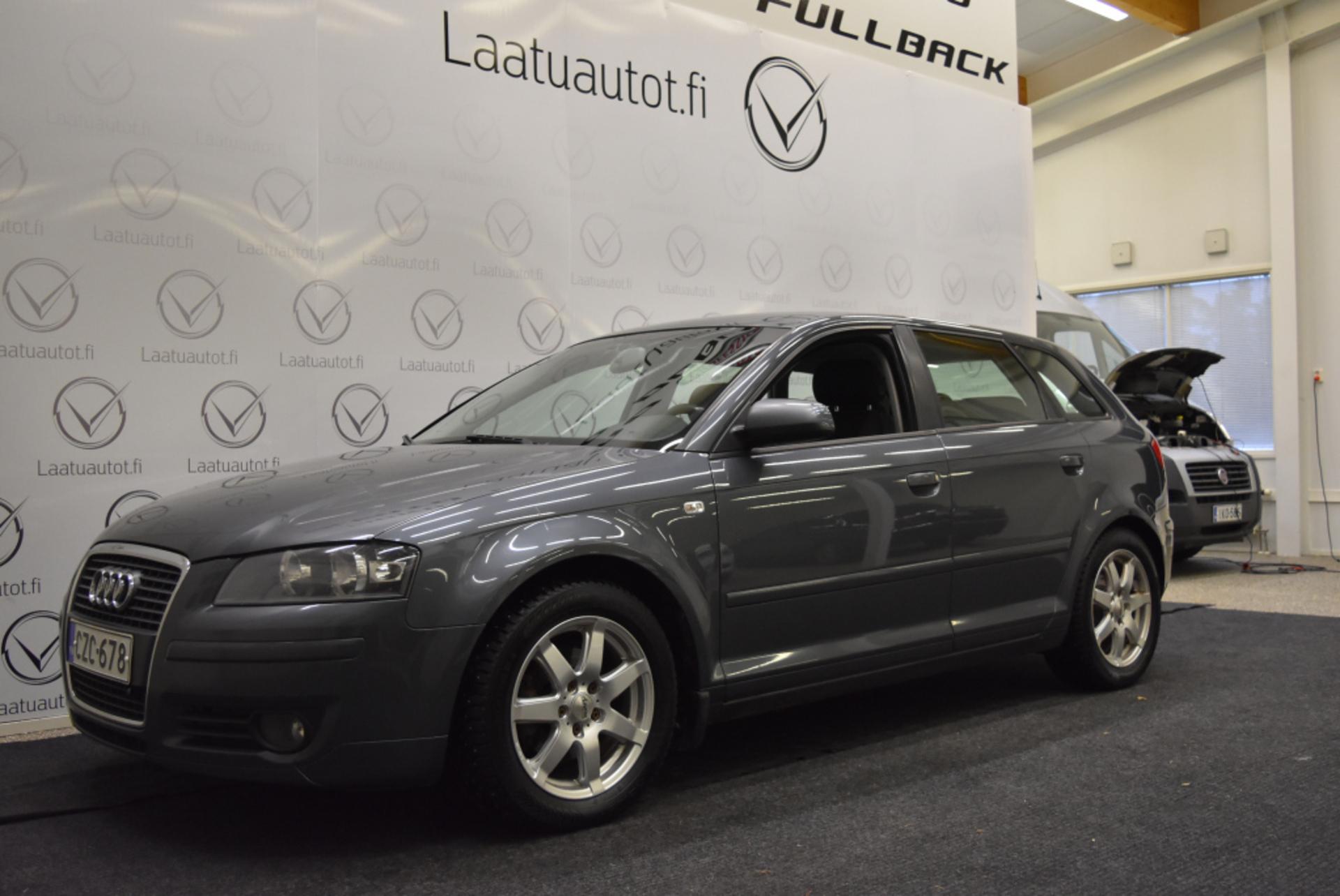AUDI A3 Sportback Ambiente 1, 6 75 kW - korkotarjous 1.99%! Auto Ac,  Vakionopeudensääd,  Koukku!