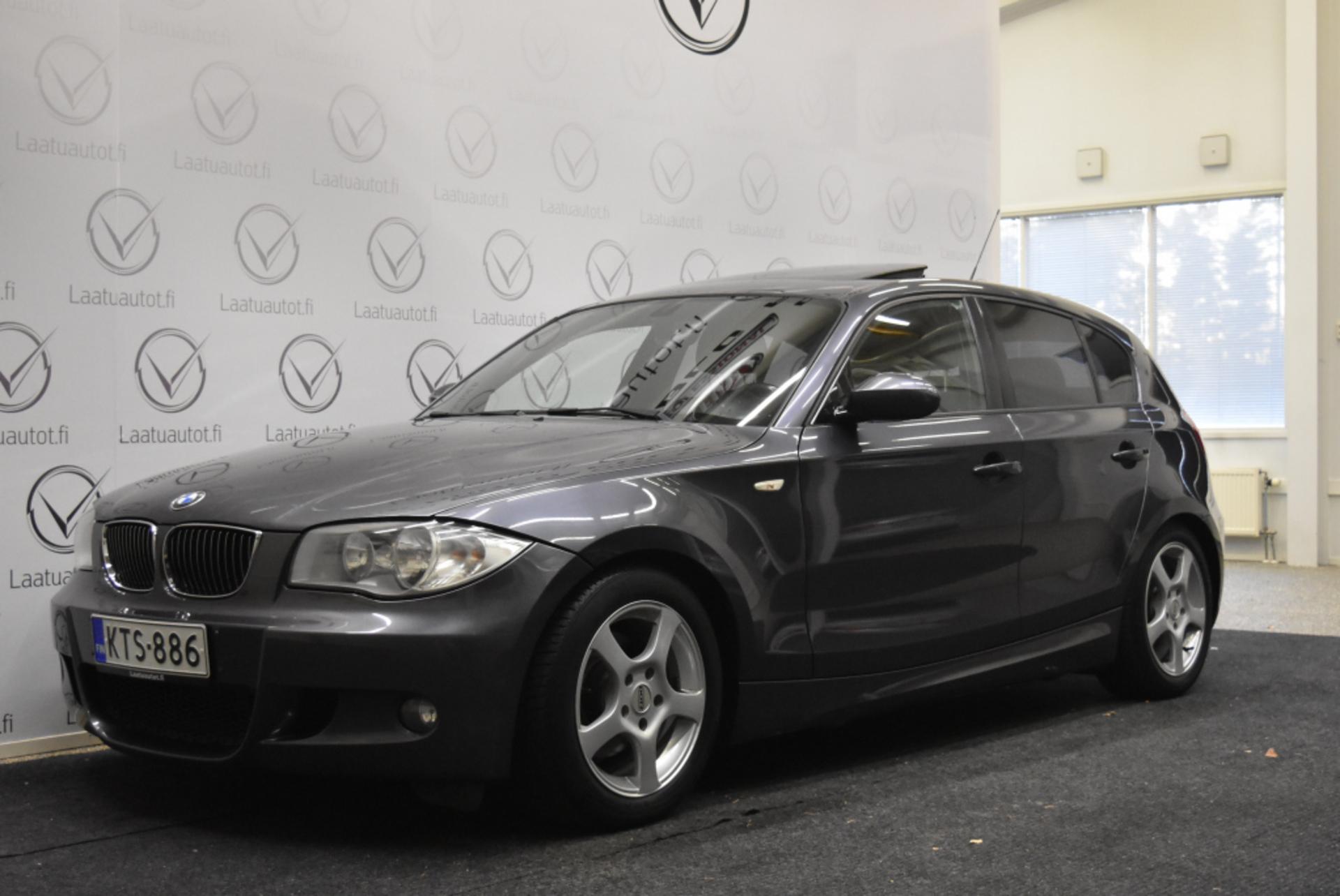 BMW 120 E87 M-Sport - Hieno alkuperäinen M-sport,  Korkotarjous 1, 99%+kulut,  jopa ilman käsirahaa