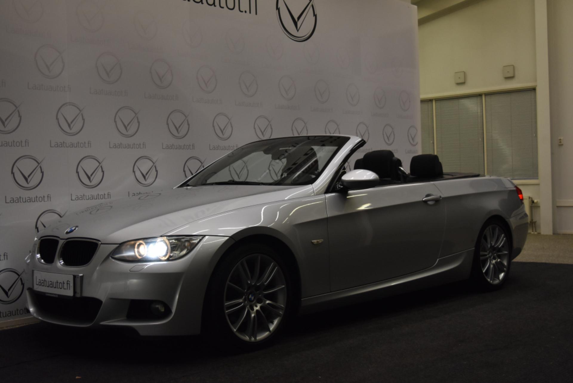 BMW 320 320D A E93 Cabrio M-Sport - Korko 1, 99%! Juuri katsastettu! Kovakatto avo kaksilla renkailla!