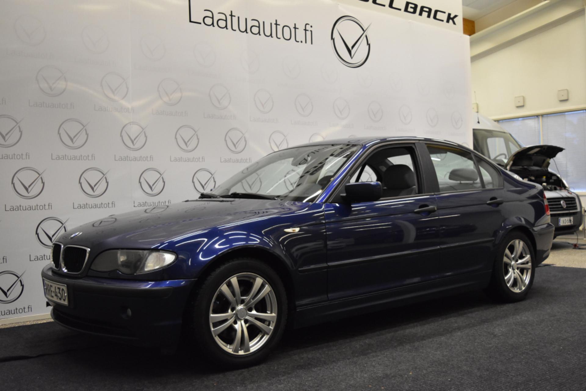 BMW 320 d - Juuri katsastettu,  Webasto! Vaihto ja Rahoitus!