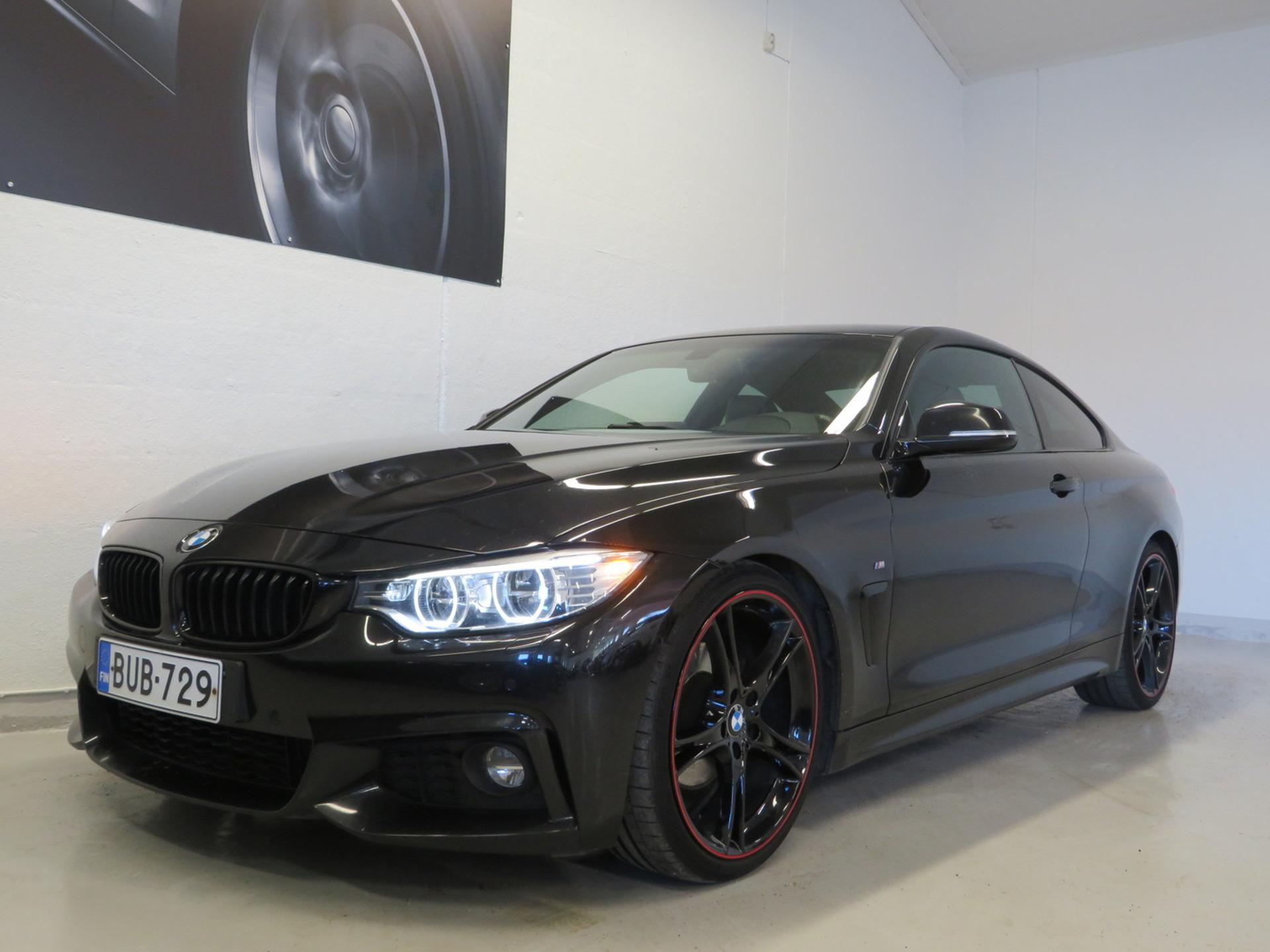 BMW 420 F32 Coupe 420d TwinPower Turbo Automatic M-Sport - ,  Korko 1, 99%! Sport-putkisto,  Prof.navi,  Nahkasisusta,  LED-ajovalot,  PDC,  20