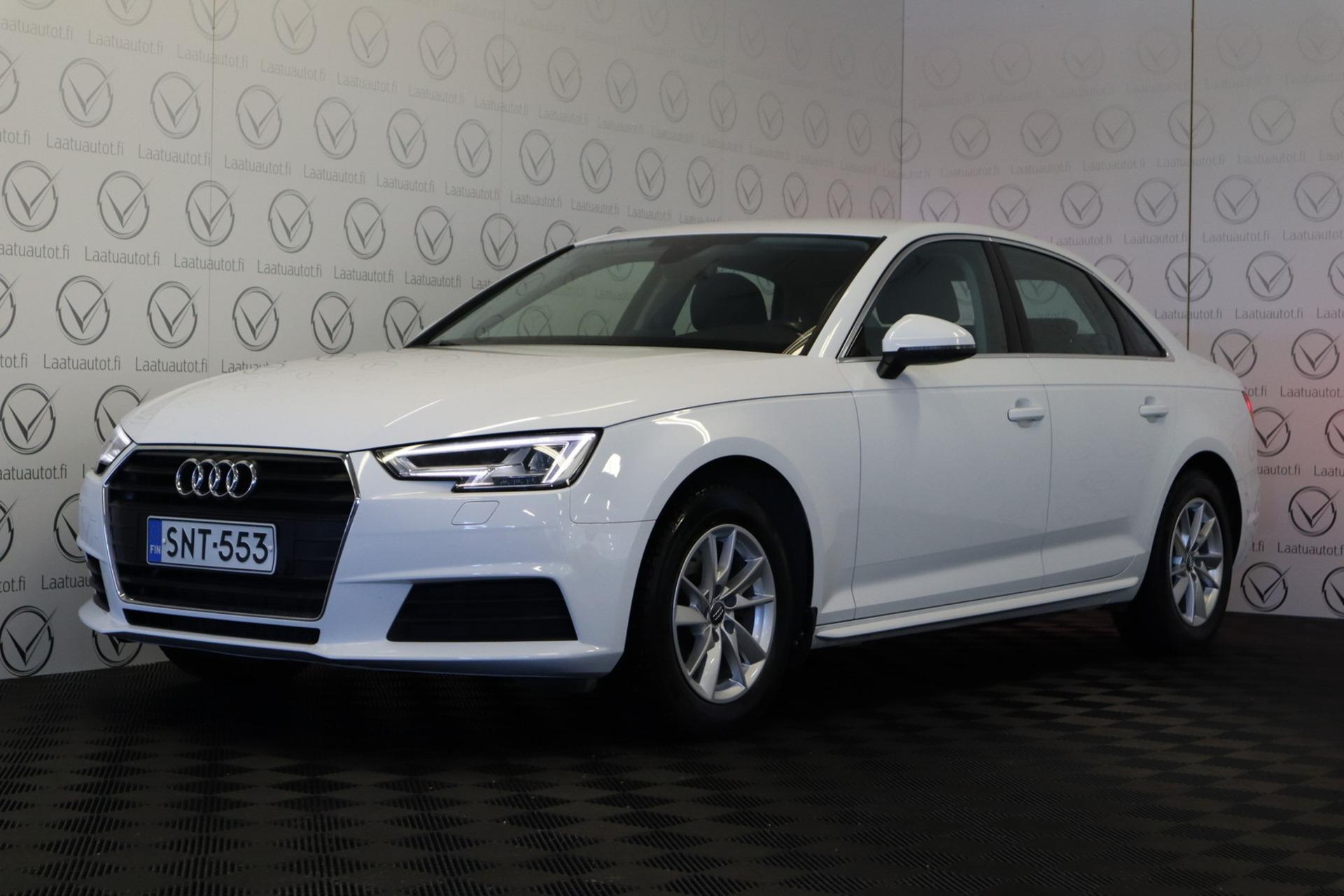 AUDI A4 Sedan Business 1, 4 TFSI 110 kW S tronic -  , 1-omistaja,  Jopa ilman käsirahaa,  Korko 1, 99%+kulut