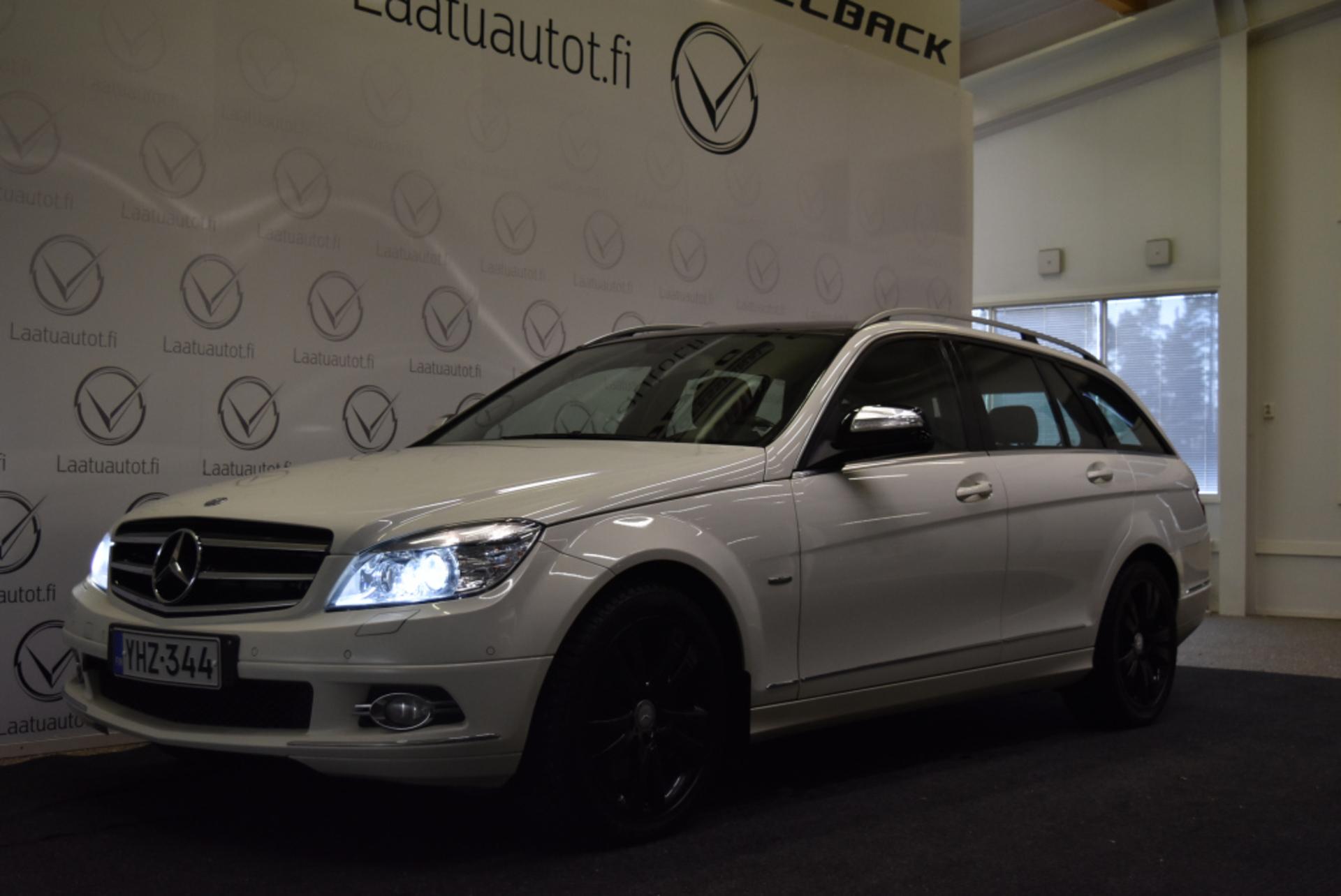 MERCEDES-BENZ C 320 CDI T 4Matic A Avantgarde - Hieno Suomi-auto nahkasisustalla,  Juuri kats! Korko 1, 99%! Käsiraha alkaen 0e!